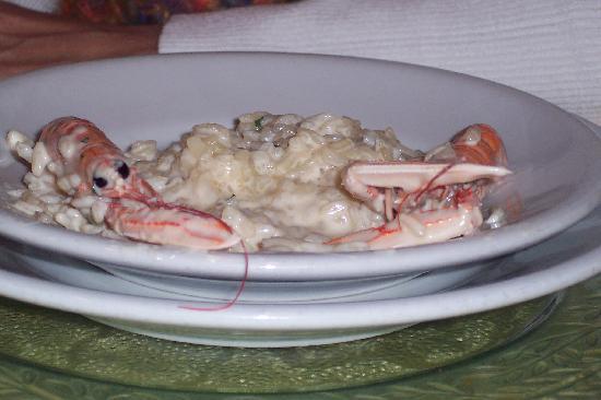 Osteria Dei Cansacchi : Rissoto - amazing.