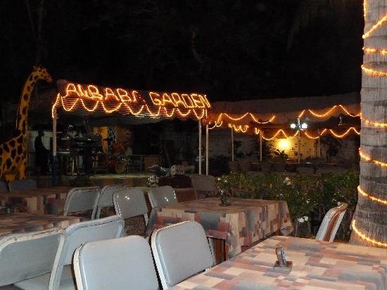 Ali Baba Restaurant and Garden: it was very early, normally far busier!!!