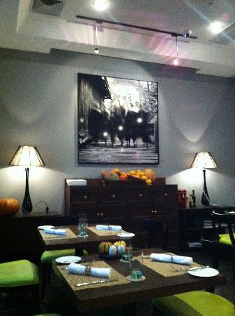 Geruisi Art Hotel: dining room