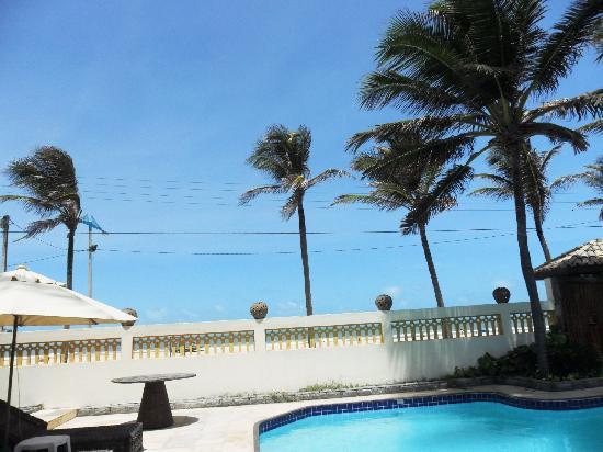 Casa Prainha Pousada : Vista da piscina