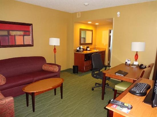 Embassy Suites by Hilton East Peoria - Hotel & RiverFront Conf Center: Room