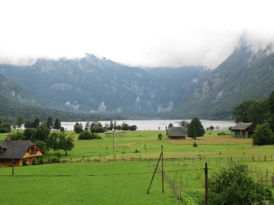 Residence Triglav: View from the room