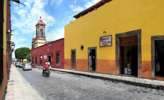 Hotel Mansion Virreyes: Entrada Principal