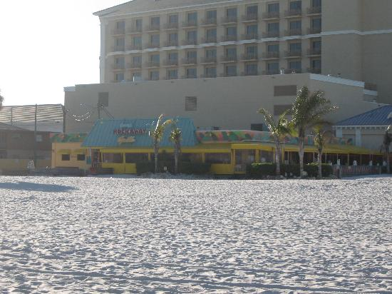 Frenchy's Rockaway Grill: View from the beach