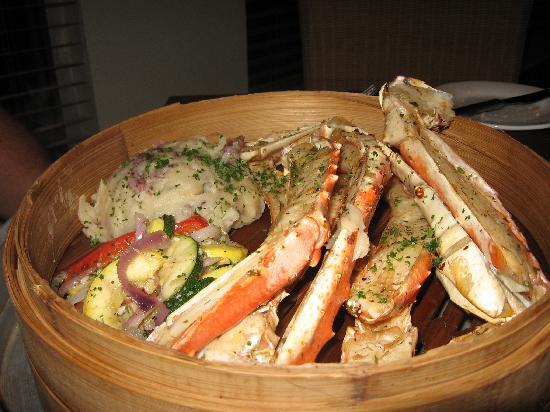 Island Way Grill: King Crab Legs