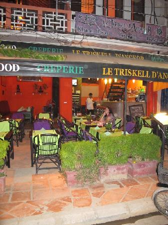 Le Triskell d'Angkor: The cafe