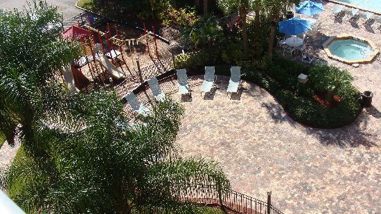 "Holiday Inn Orlando SW - Celebration Area: Nice Pool Deck and ""Park"" Area"