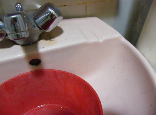Sri Legenda Garden Resort Langkawi : Dirty basin