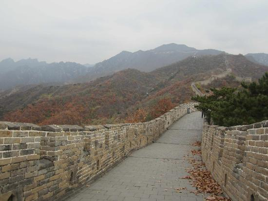 Beijing Private Guide--Skye: Mutianyu Great Wall in Autumn
