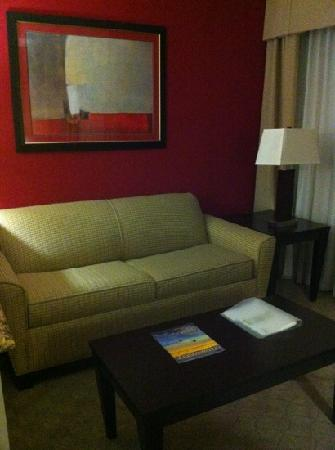 Holiday Inn Hotel & Suites Anaheim - Fullerton: small living room area