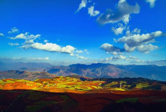Shilin County, China: Dongchuan Red Land