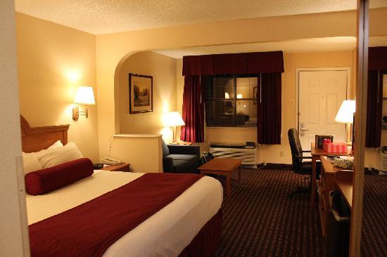 Best Western Brady Inn : Room with King Bed
