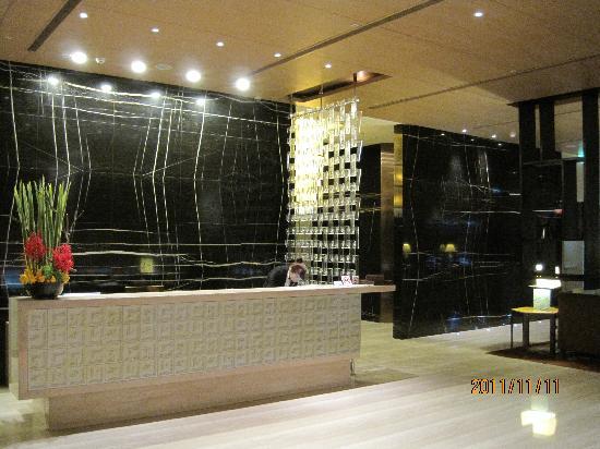 City Suites Taipei Nanxi: フロント(2階)です