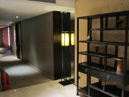 City Suites Taipei Nanxi: 洒落た廊下です