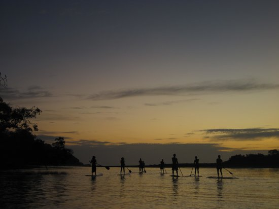 Nosara, Kosta Rika: Paddle Boarding @ Sunset