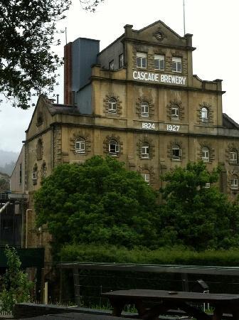 Cascade Brewery: Oldest brewery in Australia.