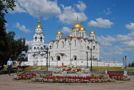 Vladimir, Russland: Успенский собор XII в.