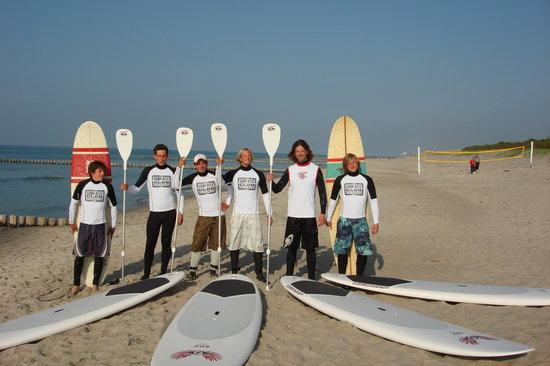 Surfschule: Nochmal Surfgruppe