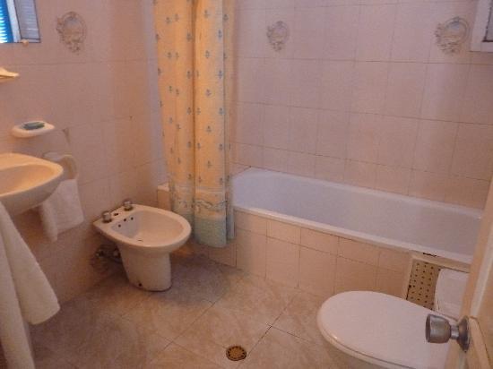 Hotel España: Baño