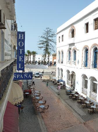 Hotel España: Desde la habitación