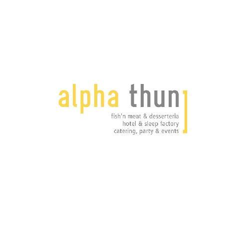 Alpha Thun: Logo