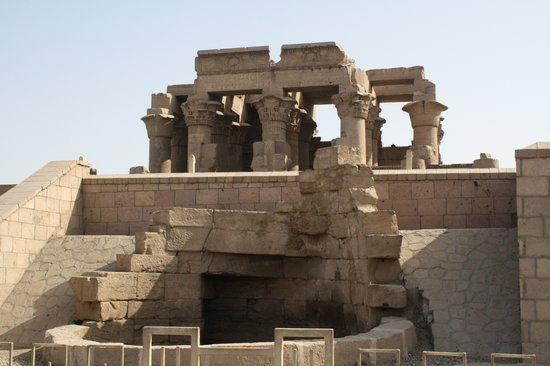 Kom Ombo, Egypt: The Temple entrance
