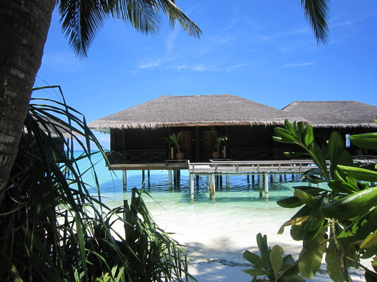 Kuramathi Island Resort: Our watervilla