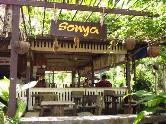 Sonya Restaurant & Guesthouse : Sonya's restaurant