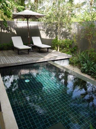 Renaissance Phuket Resort & Spa : Private pool @ One-Bedroom Pool Villa