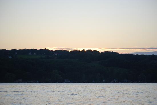Sunset at Keuka Lake