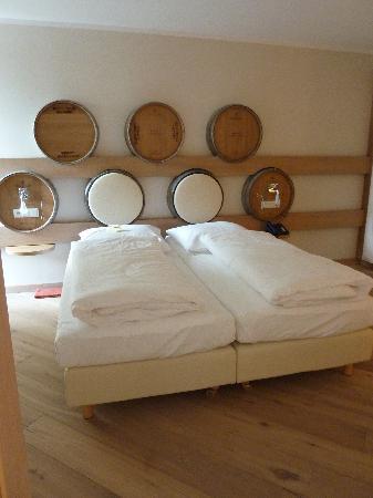 Wohlfuhlhotel Alte Rebschule: Die gemütlichen Betten