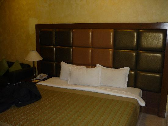 The Star Grand: the nice comfortable bed