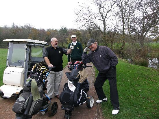 Horsley Lodge: Great Golf