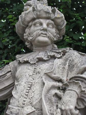"Hofgarten Veitshochheim: one of the ""Suisse guards"""