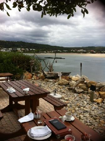 The Lemon Grass Seaside Restaurant : Lemon Grass view to lagoon