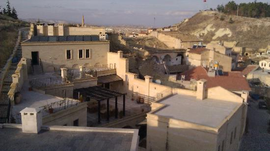 Cappadocia Estates Hotel : view from the rooftop terrace