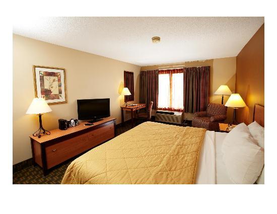 Quality Inn Fairmont: King Executive Room