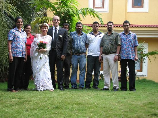 Bougainvillea Guest House Goa: wedding