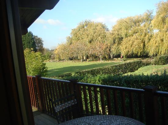 Cherbridge Cottages: View from the lounge