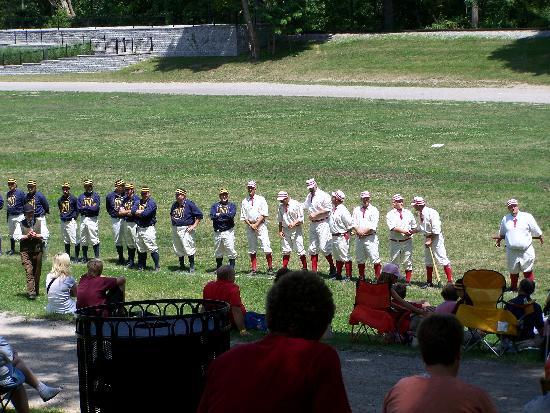 Historic baseball at Greenfield village