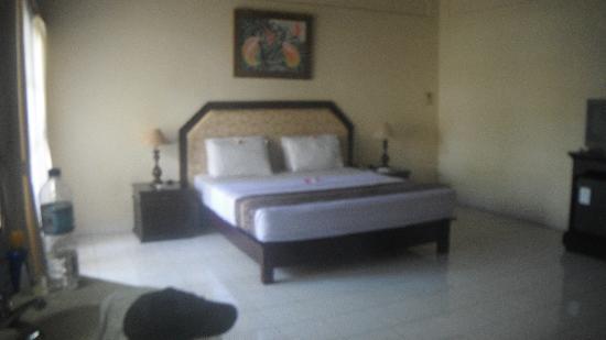 Aditya Beach Resort: notre chambre