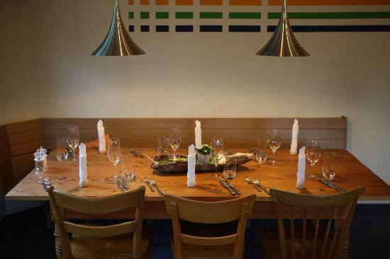 Alpha Thun: Restaurant