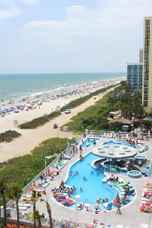 Beautiful Oceanfront Pool Deck Picture Of Hotel Blue