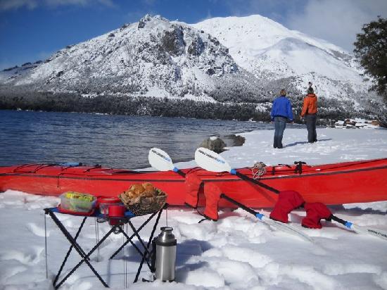 San Carlos de Bariloche, Argentyna: Kayak Invernal