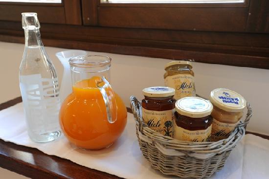 Honey Rooms : colazione