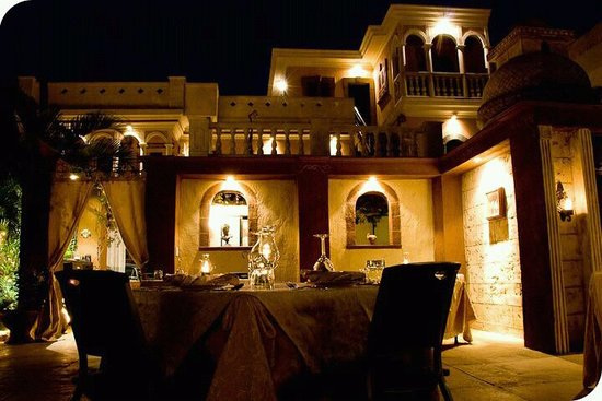 Casa Teresa Ristorante Italiano : the view while dining!! Magical