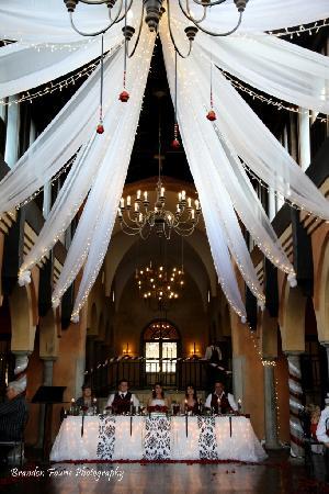 Avianto: The reception hall