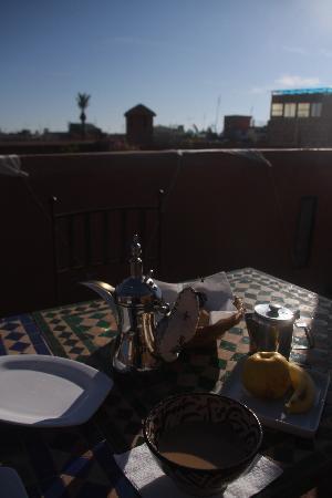 Riad Djebel: My Breakfast