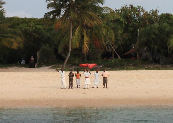 andBeyond Benguerra Island: welcoming committee