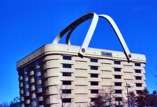 Dresden, โอไฮโอ: Longaberger office building